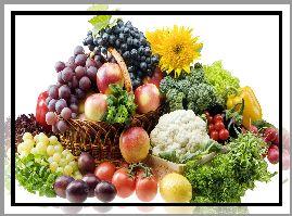Owoce, Warzywa, Witaminy