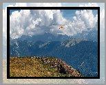 Góry, Chmury, Paralotnia