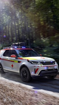 Ambulans Land Rover Discovery