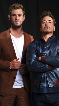 Chris Hemsworth i Robert Downey Jr.