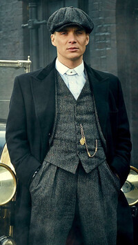 Gangster Tommy Shelby z filmu Peaky Blinders