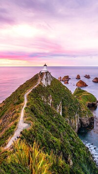 Latarnia morska Nugget Point Lighthouse