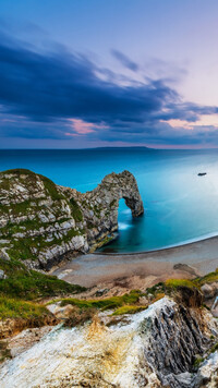 Łuk wapienny Durdle Door