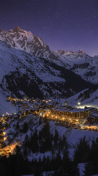 Meribel zimą