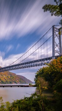 Most Bear Mountain Bridge na rzece Hudson