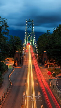 Most Lions Gate Bridge