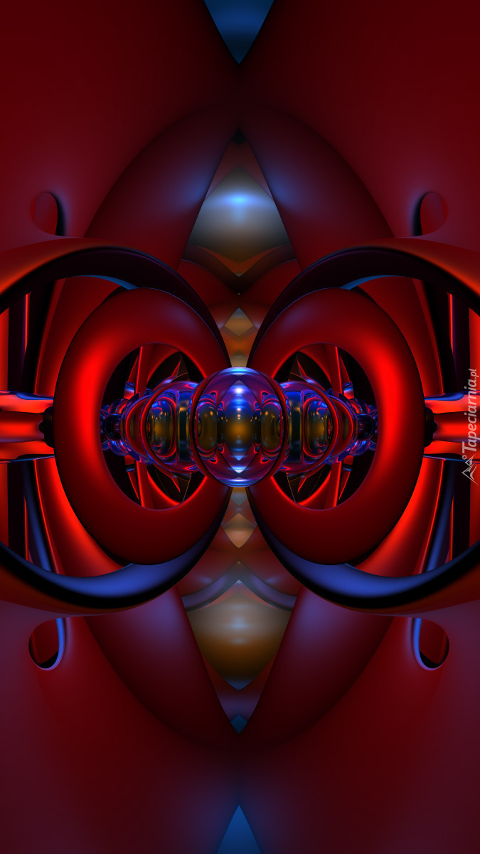 Abstrakcyjne oczy w grafice 3D