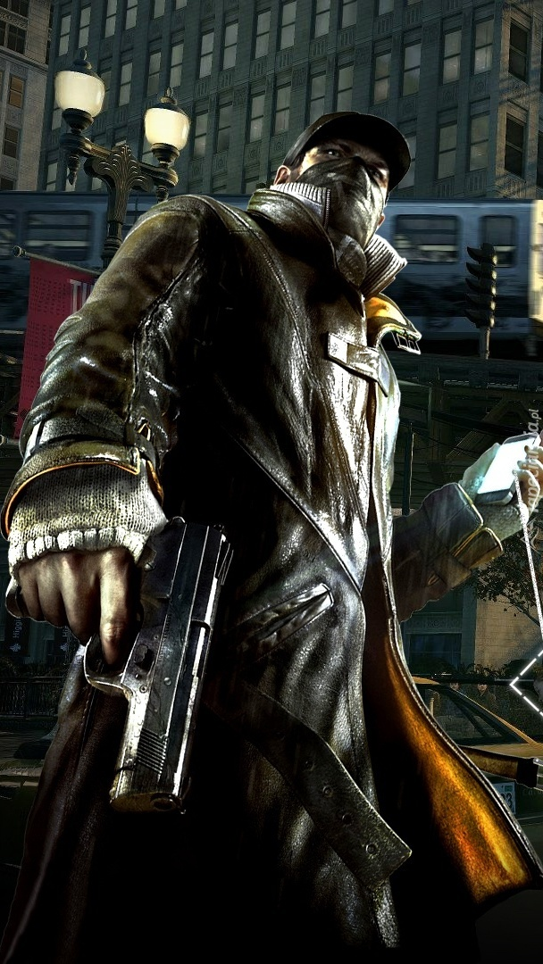 Aiden z gry Watch Dogs