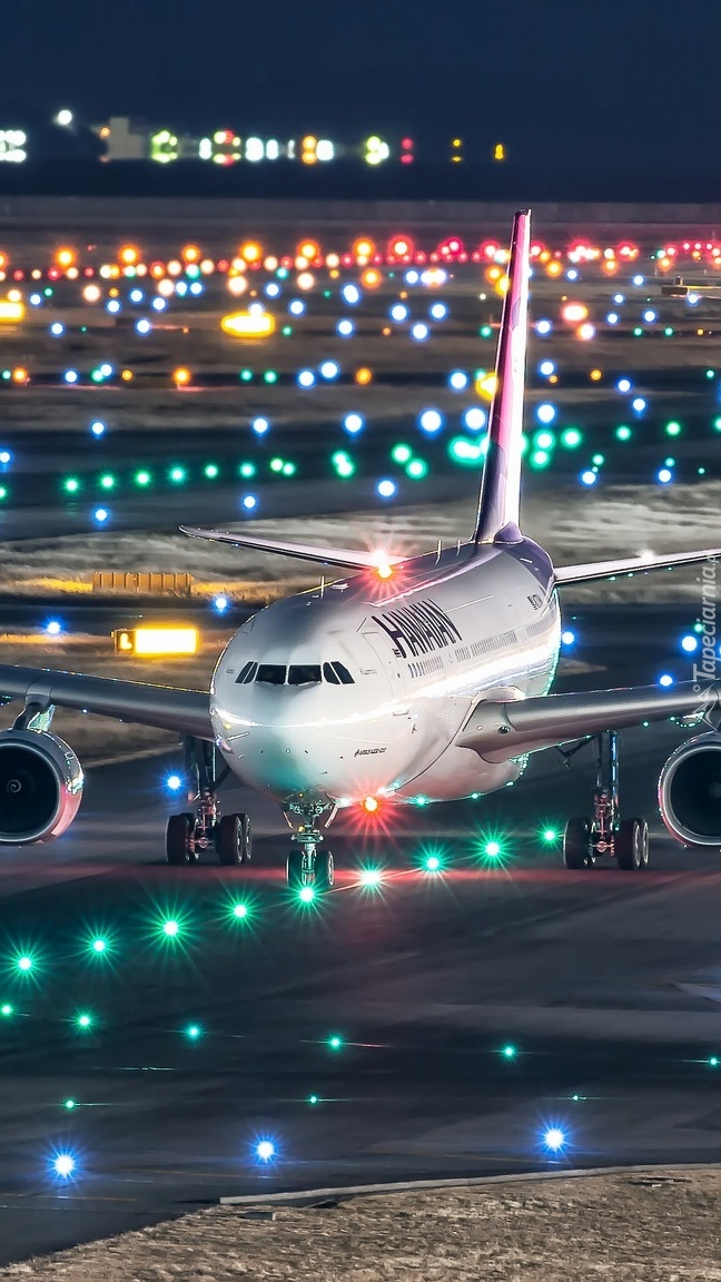 Airbus A330-200 na lotnisku