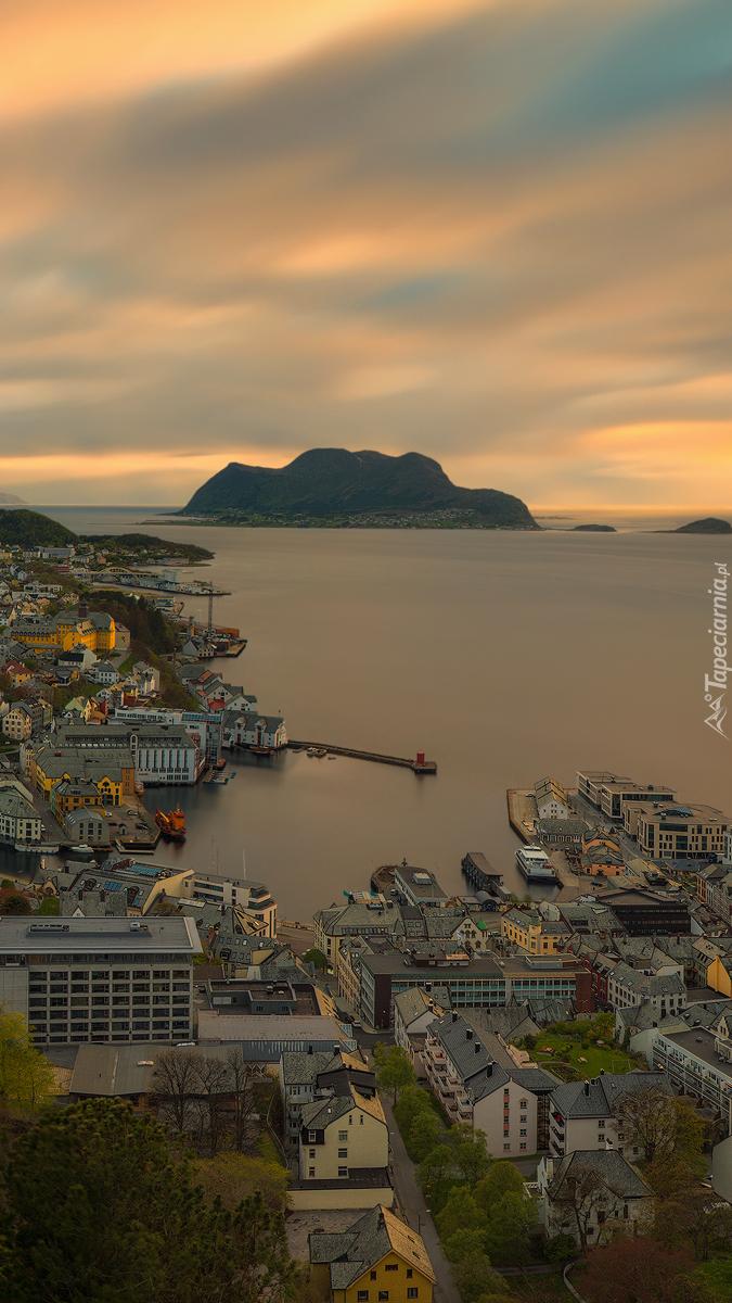 Alesund nad morzem Norweskim