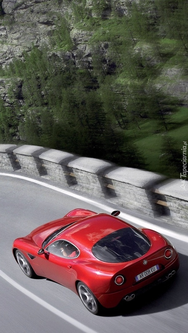 Alfa Romeo na drodze