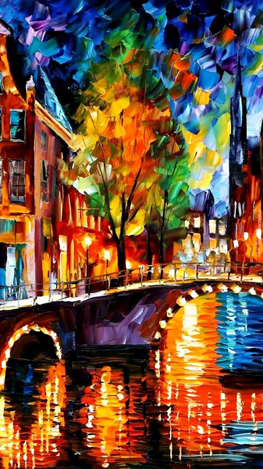 Amsterdam nocą jest inny