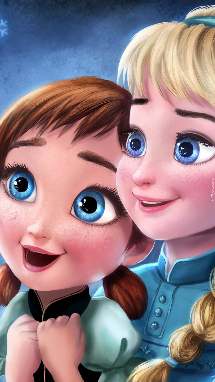 Anna i Elsa z Krainy lodu