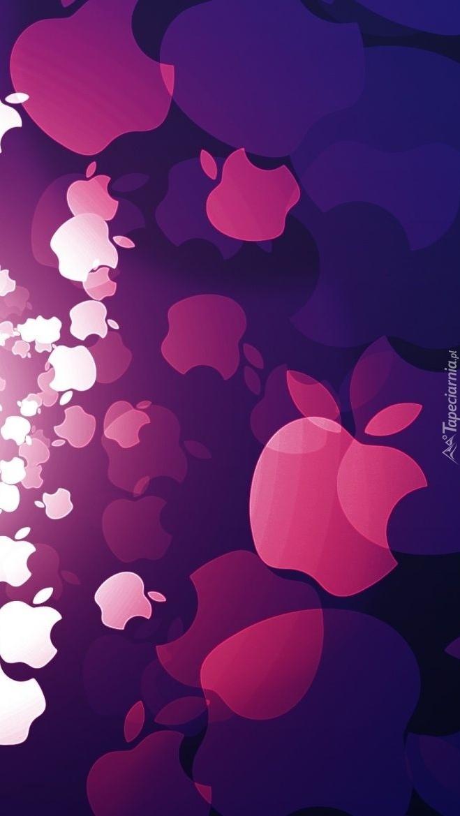 Apple w różnych kolorach