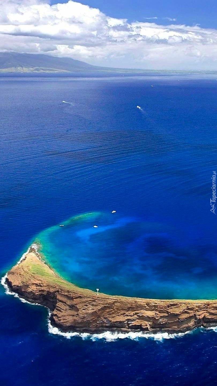 Atol na oceanie