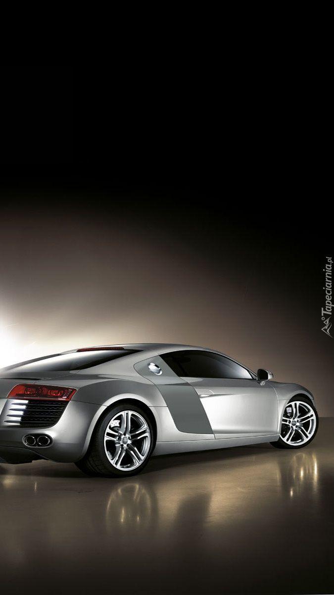 Audi R8 z profilu