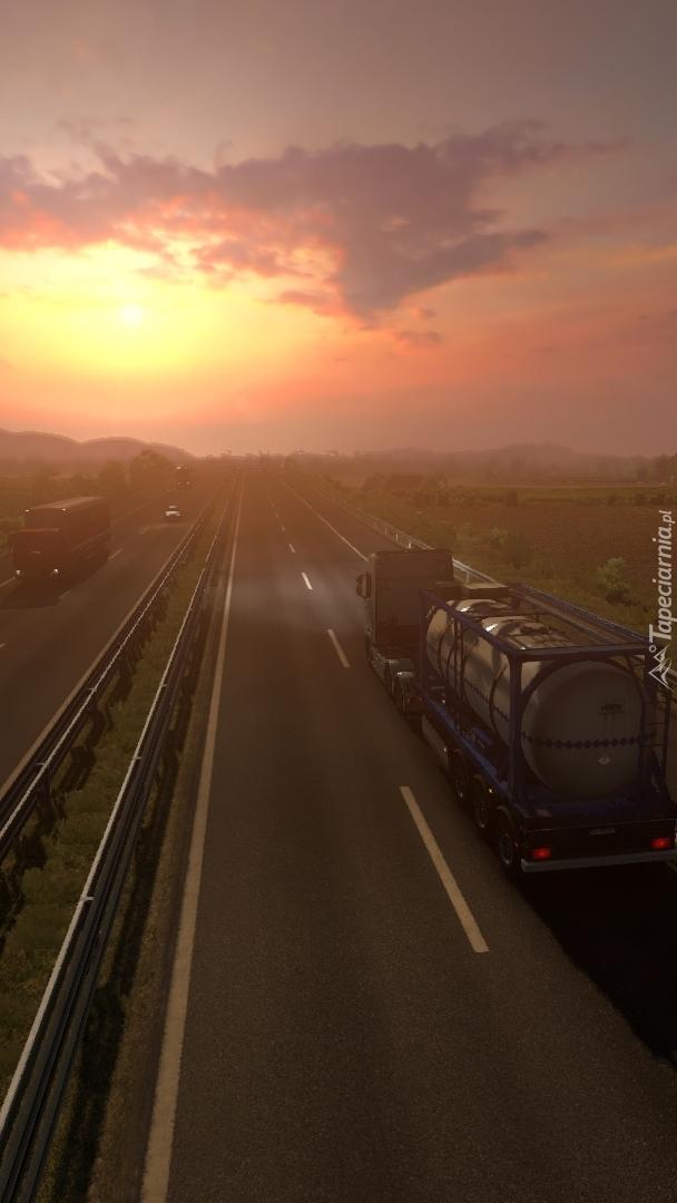 Autostrada o poranku