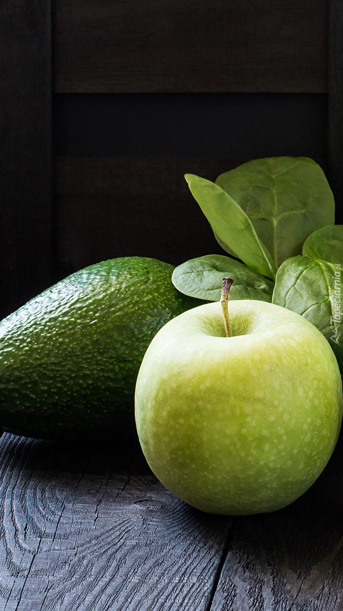 Awokado i jabłko