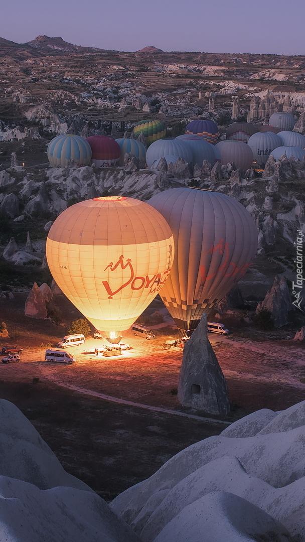Balony w Parku Narodowym Goreme w Turcji