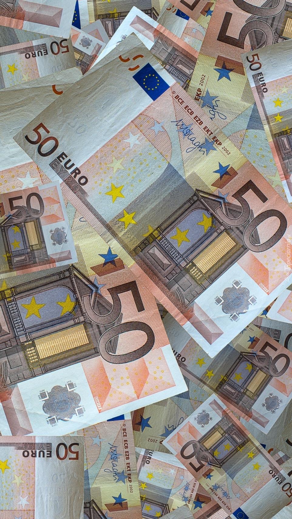 Banknoty 50 euro