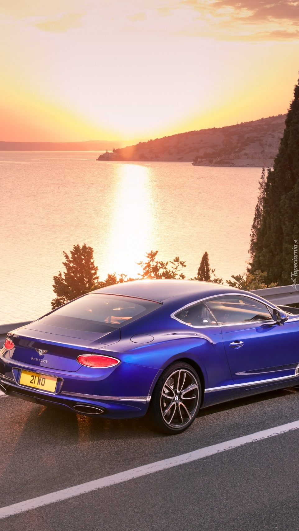 Bentley Continental GT na drodze