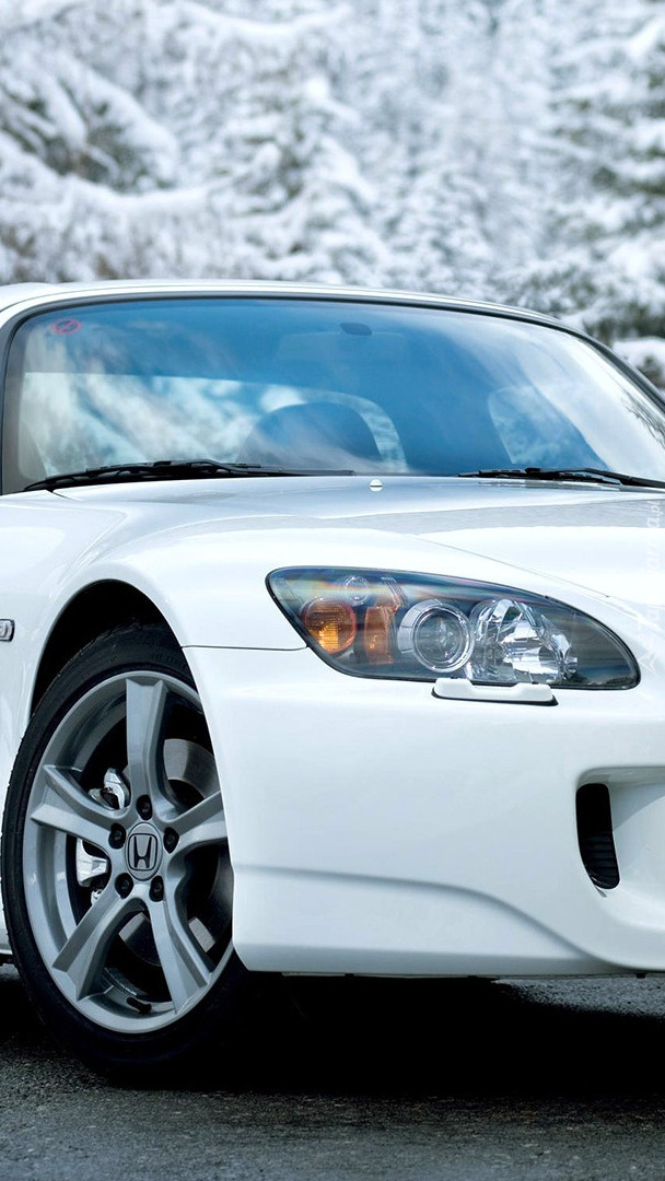 Biała Honda S2000