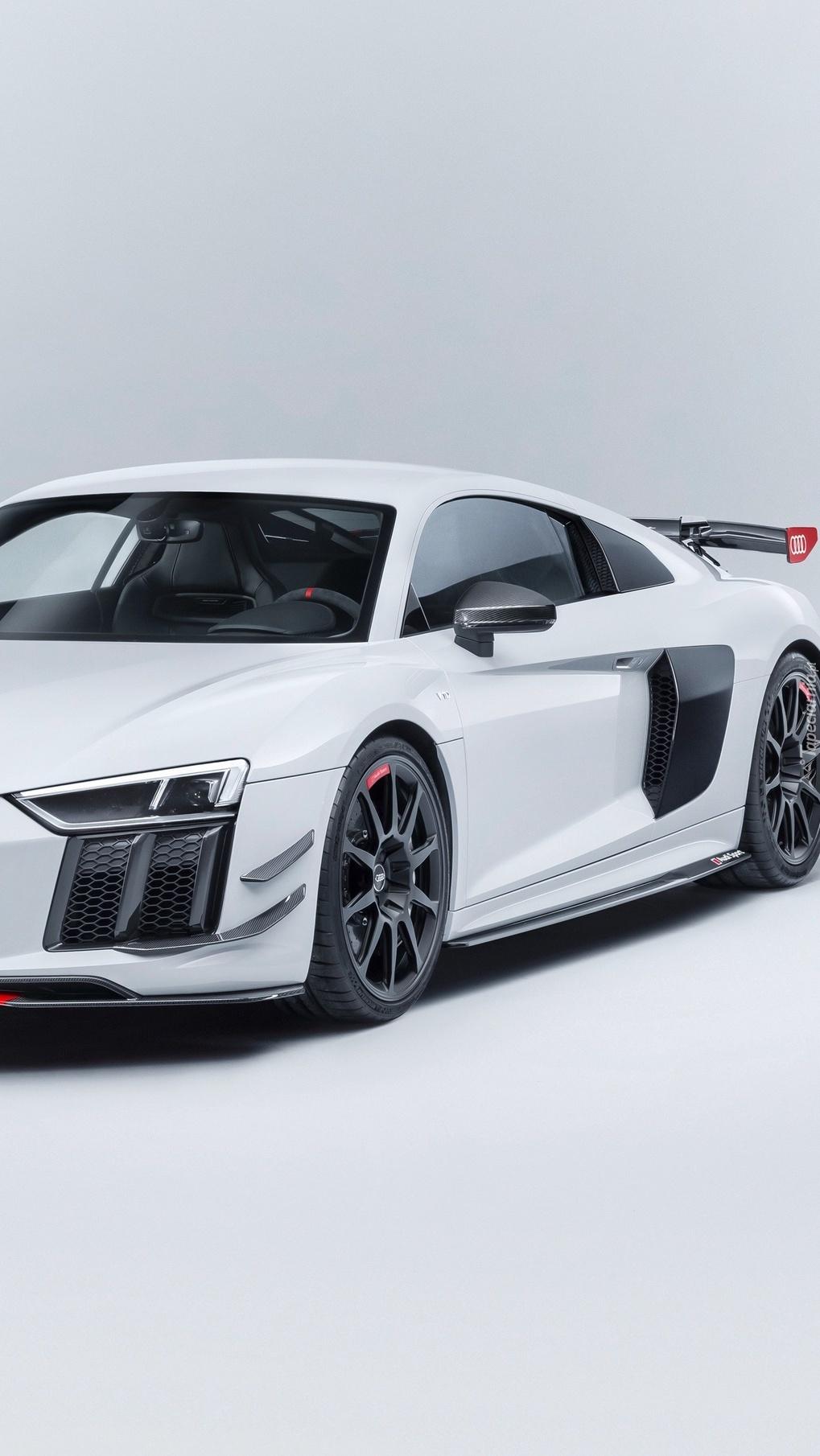 Białe Audi R8