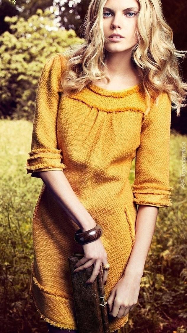 Białoruska modelka Maryna Linchuk