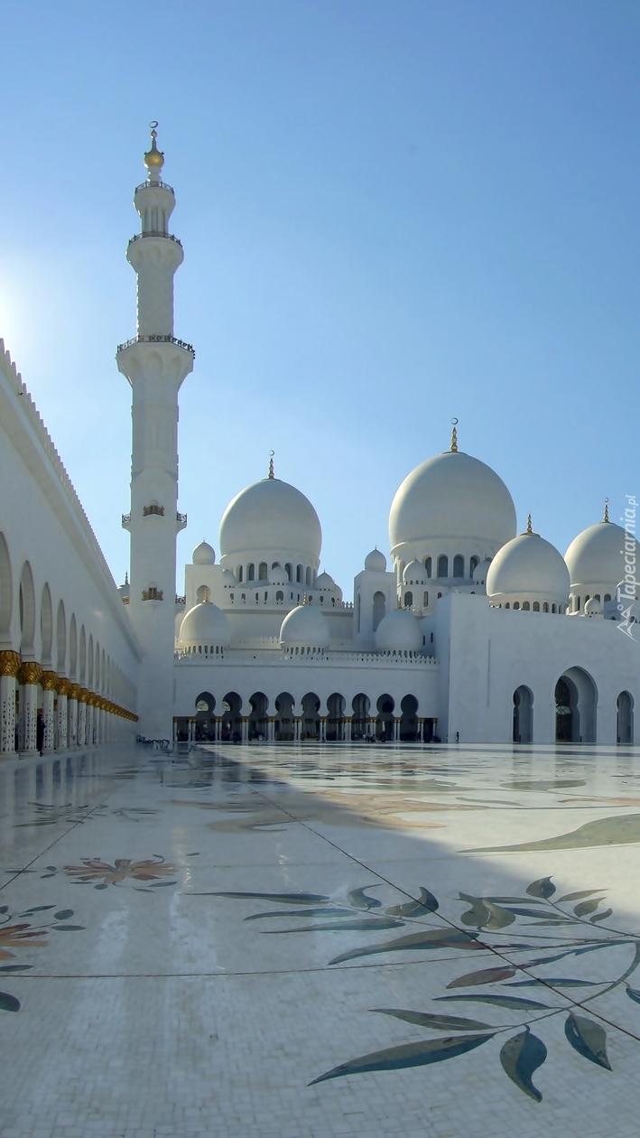 Biały Meczet Szejka Zayeda w Abu Dhabi
