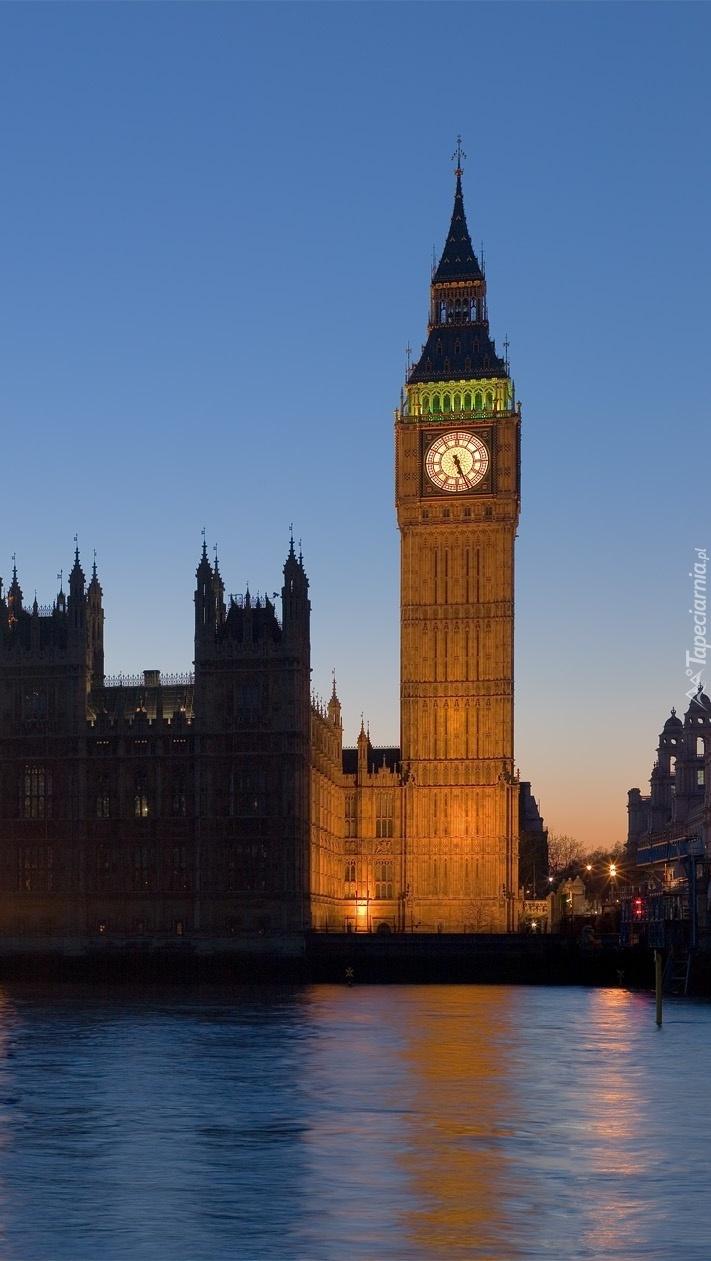 Big Ben nad Tamizą