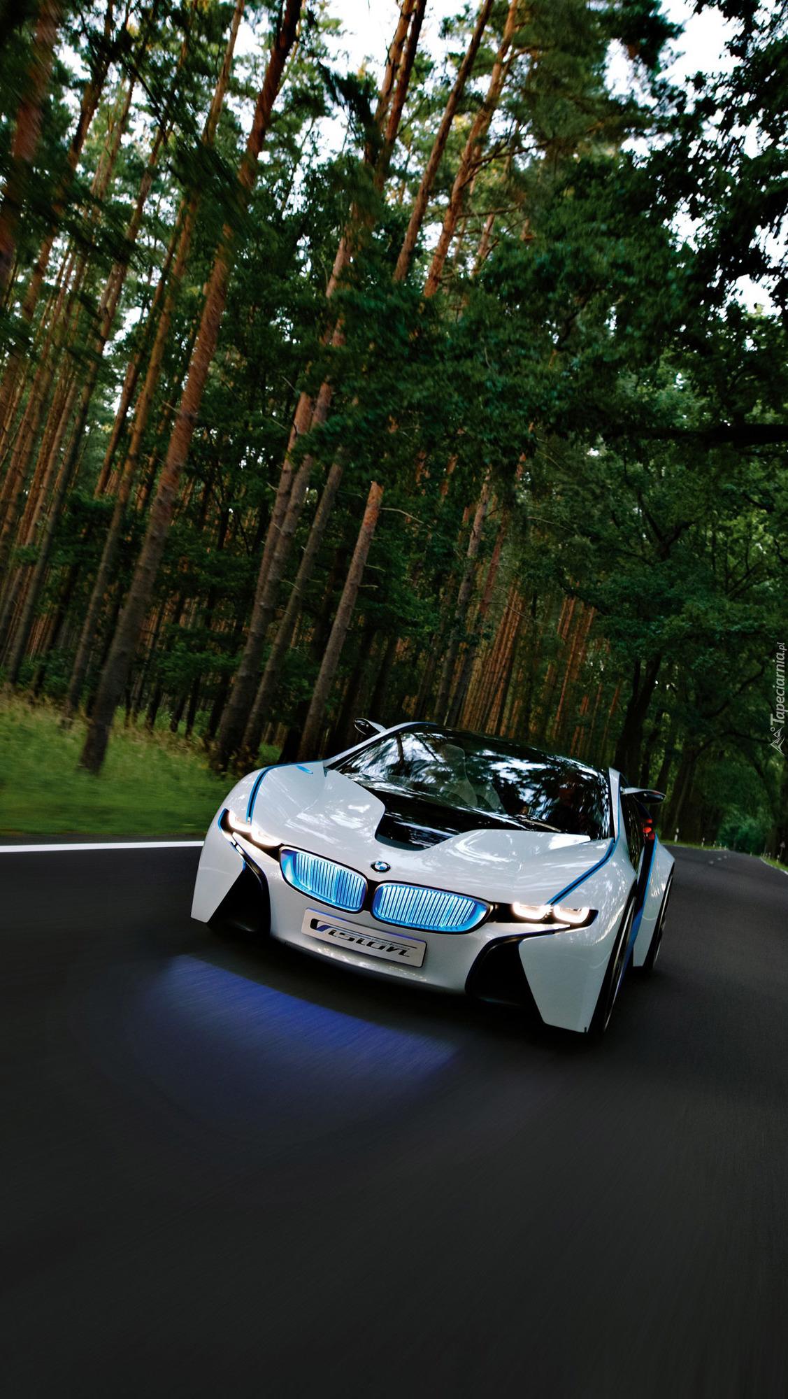 BMW Vision na drodze