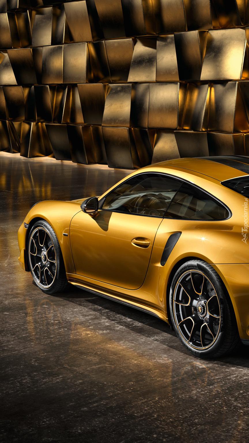 Bok Porsche 911 Turbo S Exclusive Series