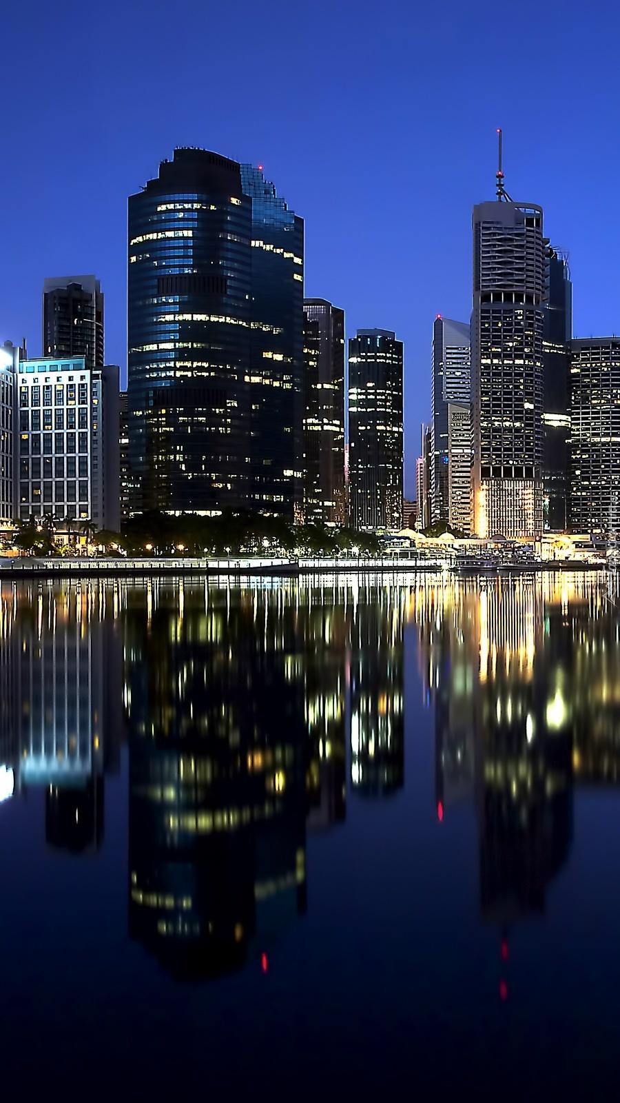 Brisbane nocą