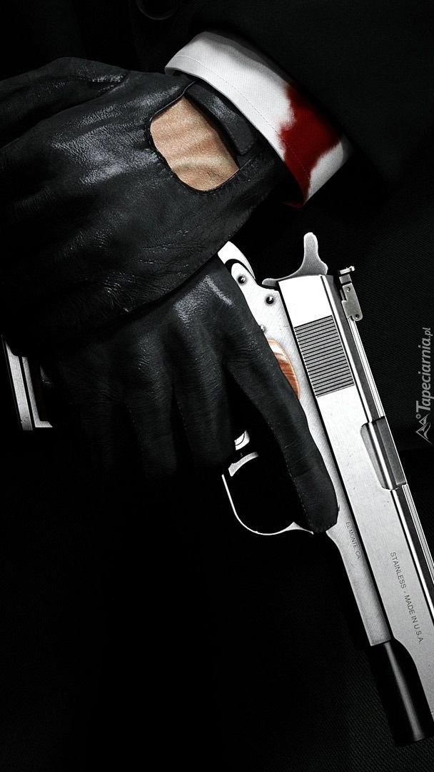 Broń w dłoniach
