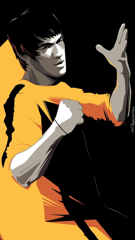 Bruce Lee w grafice