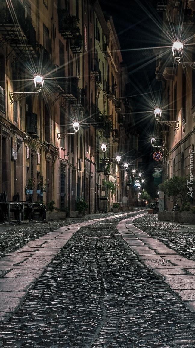 Brukowa uliczka