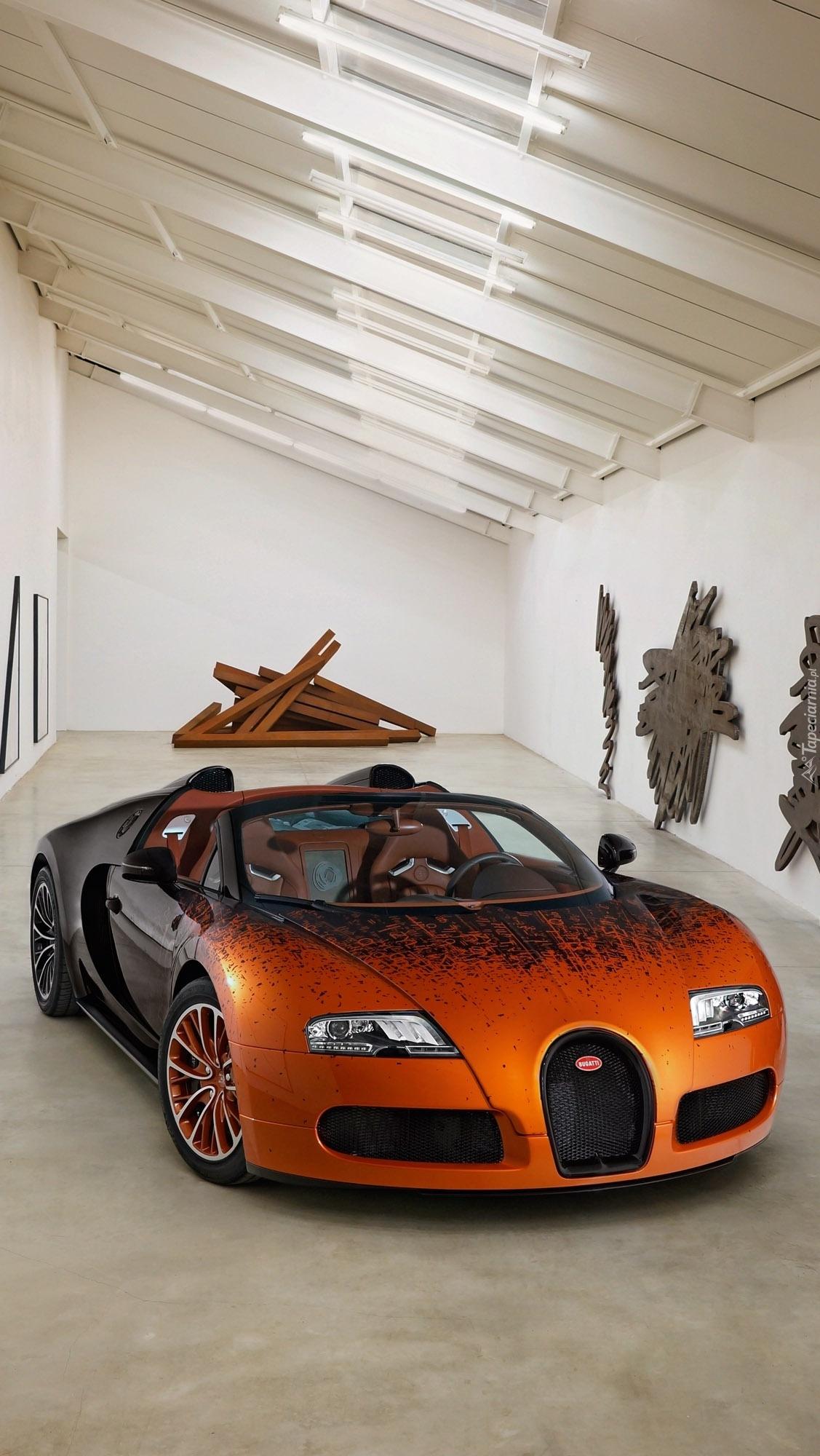 Bugatti Veyron na wystawie