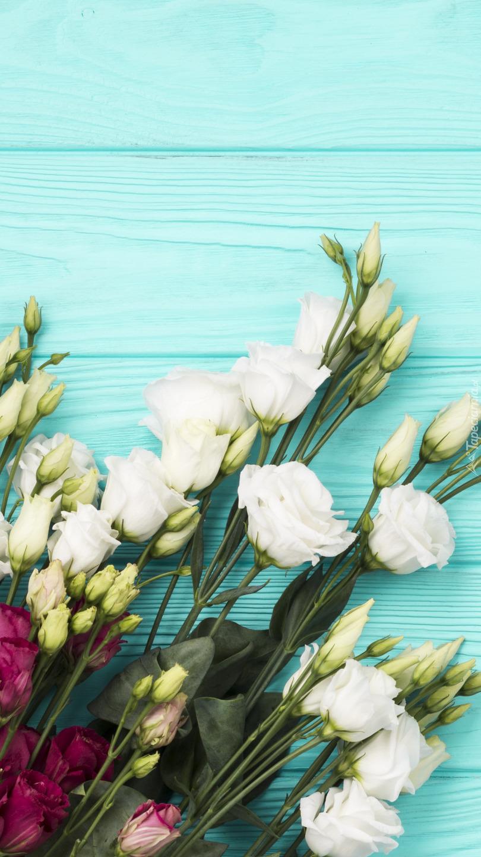 Bukiet białych kwiatów
