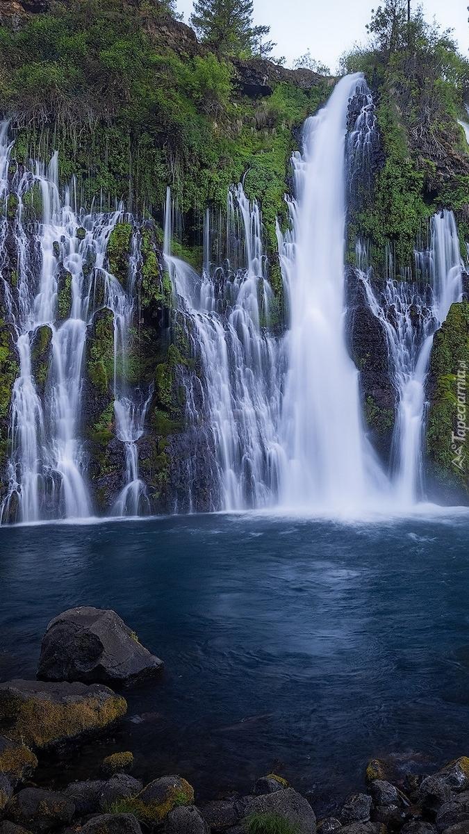 Burney Falls w Kalifornii