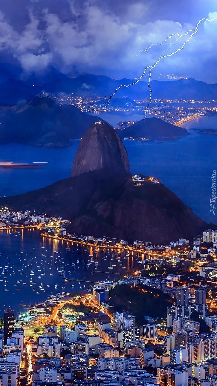 Burza nad Rio de Janeiro