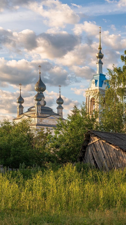 Cerkiew w Savinskoye