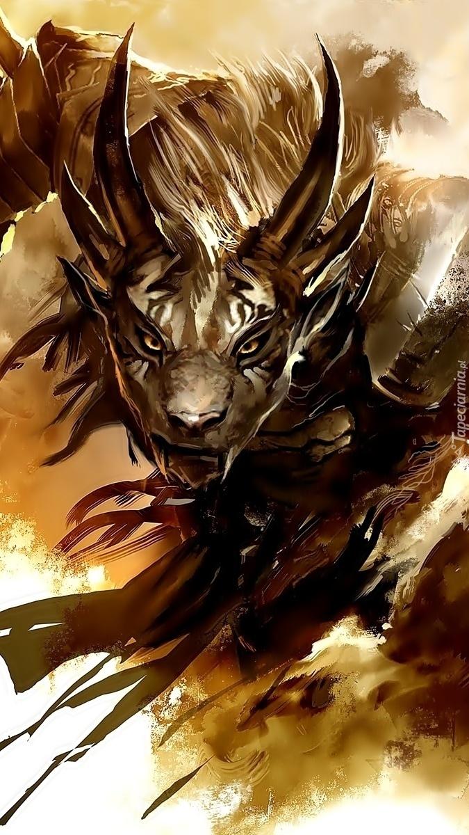 Charr z gry Guild Wars 2