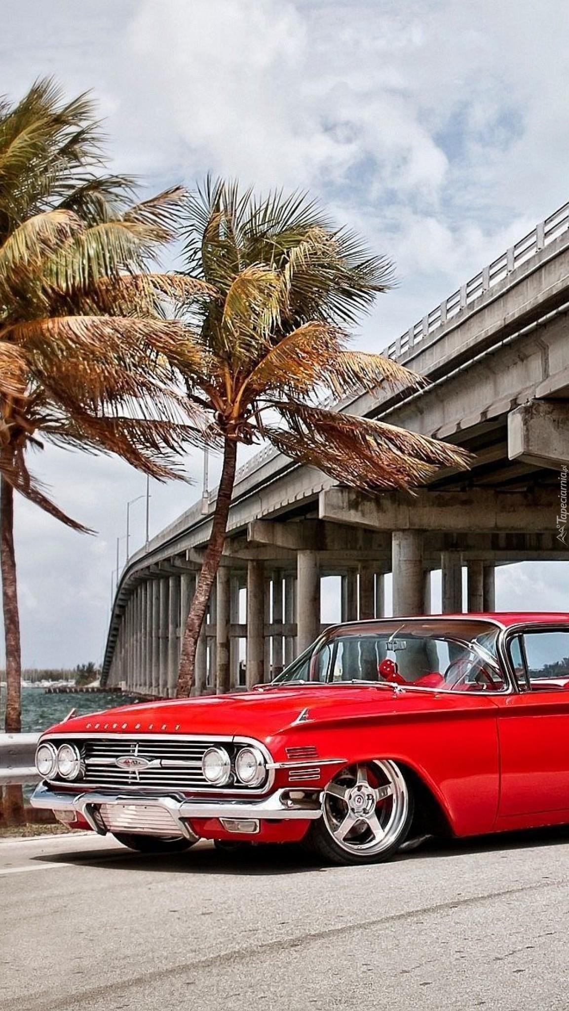 Chevrolet Impala pod palmami