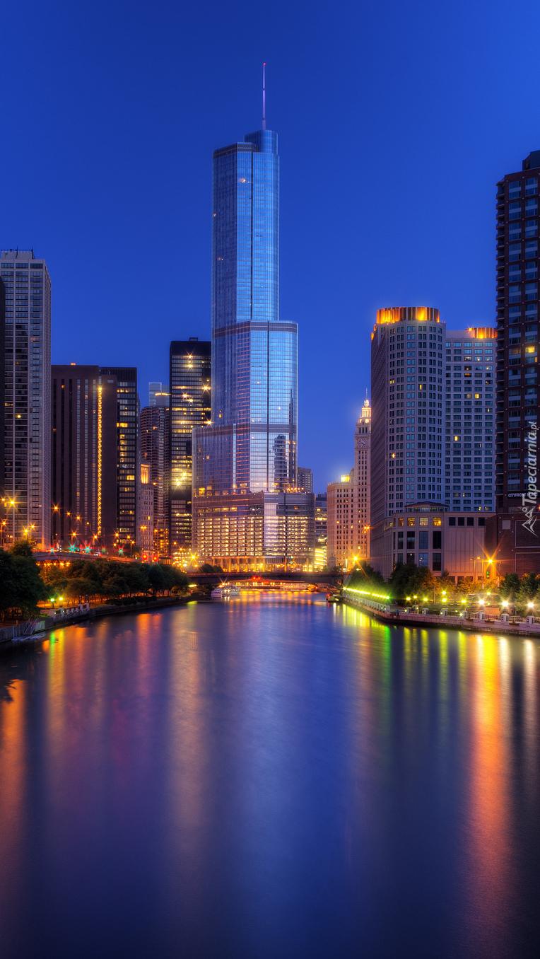 Chicago nocą