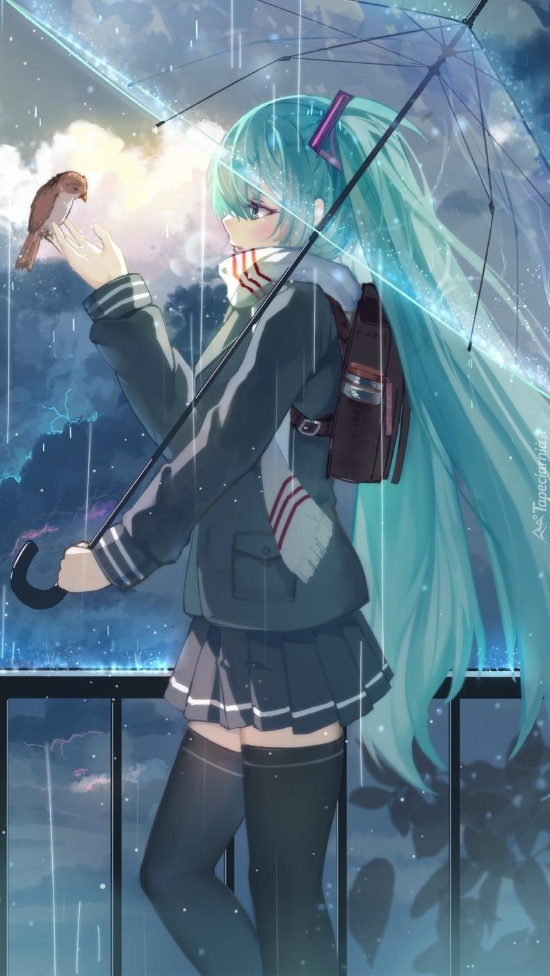 Chodź wróbelku pod mój parasol