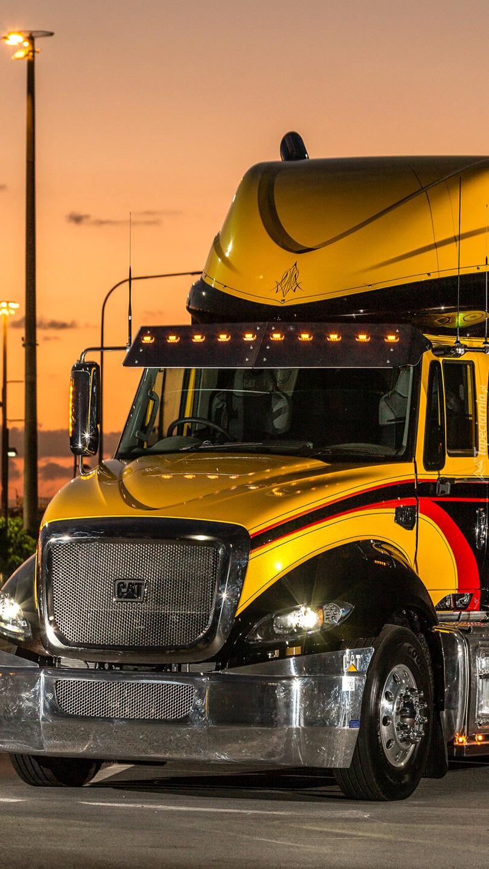 Ciężarówka Catepillar Cat