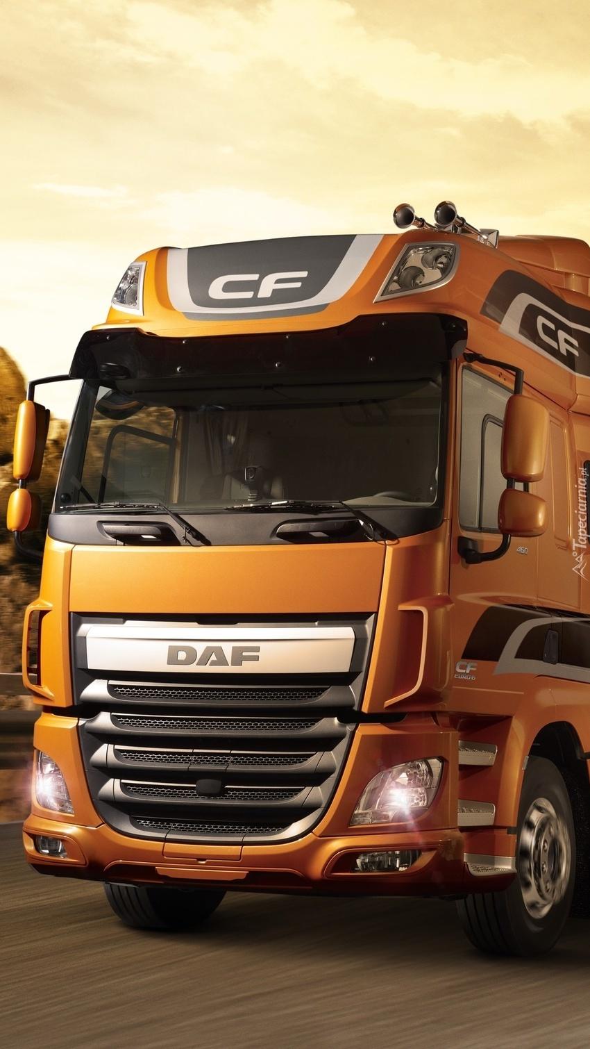 Ciężarówka DAF CF Euro 6