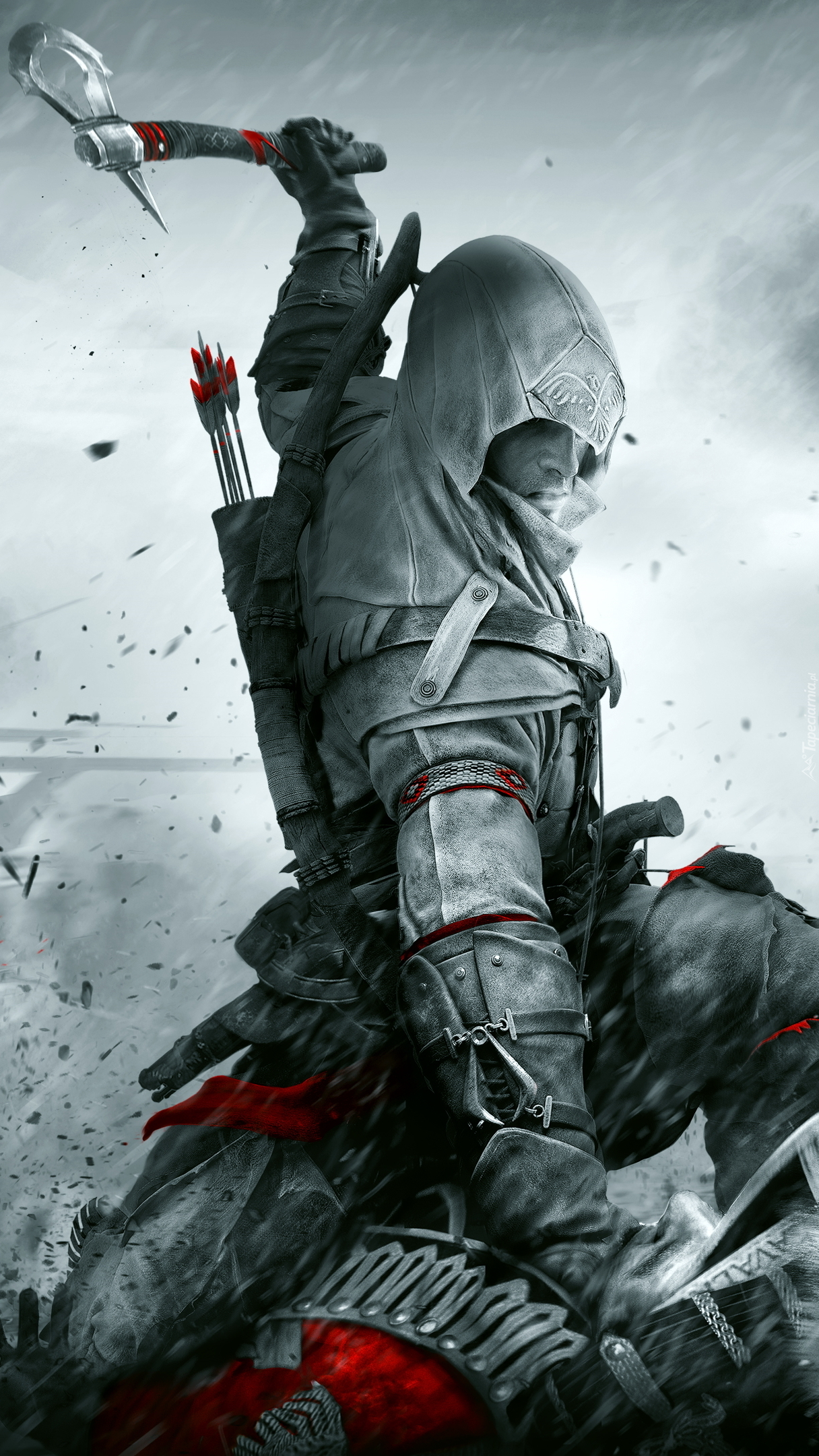 Connor z Assassins Creed III