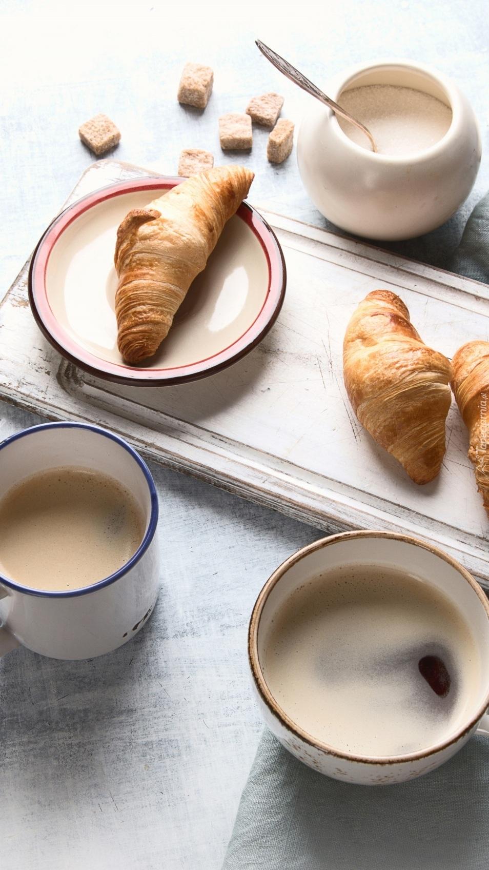 Croissanty na śniadanie