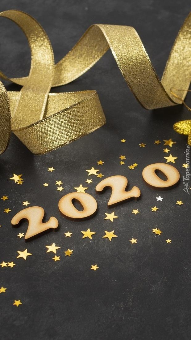 Cyfry 2020 wśród gwiazdek